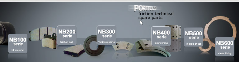 friction technical spare parts