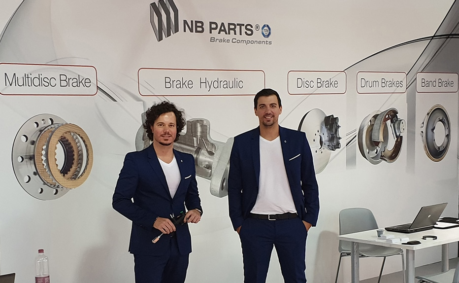 NB PARTS GmbH - Bild Eima 2018